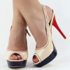 1817-Beige Sling-Pumps